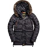 Superdry Jacke Herren Chinook Parka Black, Größe:XL