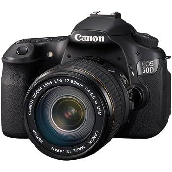 Canon EOS 60D - Cámara Réflex Digital 18 MP (Objetivo EF-S 18-