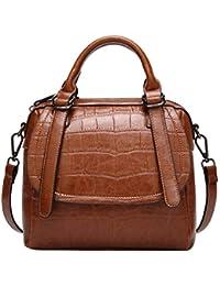 e827f8ce2c283 Lisay Mode Klein Umhängetasche Damen Leder Crossbody Taschen Vintage Kroko  Schultertasche Reise…