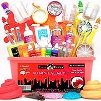 Original Stationery Ultimate Slime Kit: Kit Slime con componenti aggiuntivi per melma di Unicorno, melma Glitterata,...