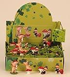 24 Stück Display Glücksschweine und Schornsteinfeger in Tüte Glücksbringer