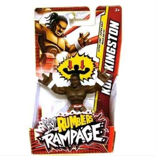 WWE Wrestling Rumblers Rampage Mini Figure Kofi Kingston [Super Jump] by Mattel