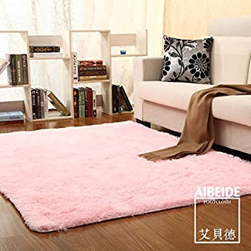 Amazonde Qwer Wohnzimmer Couchtische Schlafzimmer Teppich Einfache Rutschfest Waschbar 1 X 2 M