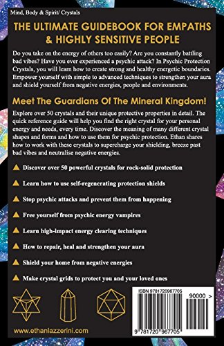 Psychic Protection Crystals: The Modern Guide To Psychic Self Defence With  Crystals For Empaths & Highly Sensitive People