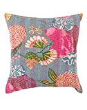 Soft Grey Single Attractive Pillow Cover...