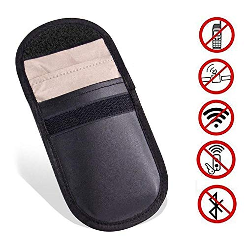 Preisvergleich Produktbild Car Key Signal Blocker | Keyless Car Key Signal Blocker Pouch | Keyless Entry Fob Protector | RFID Blocker for Keys | Antitheft Lock Devices Shielding Healthy Cell Phone Credit Card Protection