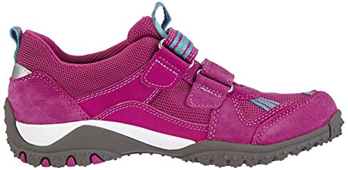 Superfit Sport4, Baskets Basses fille Rose - Pink (DAHLIA 73)