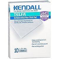 Kendall Telfa Antimicrobial Non-Stick Pads 3 x 4 10 Count by TELFA preisvergleich bei billige-tabletten.eu