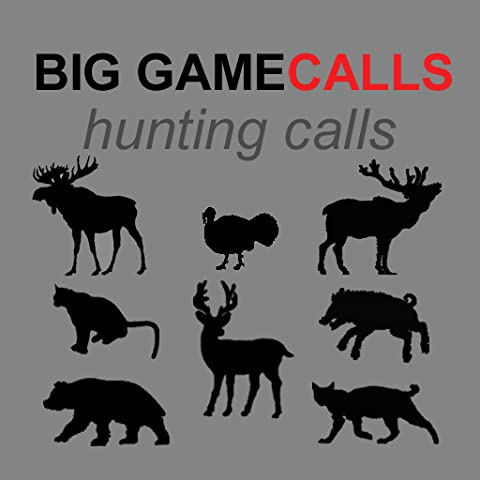 Big Game Calls - The Ultimate Big Game Hunting Calls App For Whitetail Deer, Elk, Moose, Turkey, Bear, Mountain Lions, Bobcats and Wild Boar - (ad free) BLUETOOTH COMPATIBLE