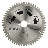 Bosch DIY Kreissägeblatt Special für verschiedene Materialien (Ø 190 mm, 54 Zähne)