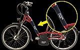 BikersOwn Case4rain Steinschlag Transport Rahmenschutz Kettenschützer, schwarz, One Size