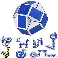 Juguetes educativos,Internet Triángulo Caja 24 Sección Cien Cambiar Regla Mágica Juguetes Populares Torcidos Del Rompecabezas De La Variedad Línea Variable Juguete Mágico (Aleatorio)