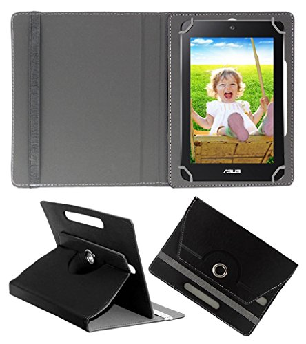 Acm Rotating 360° Leather Flip Case For Asus Memopad Hd 7 Tablet Cover Stand Black  available at amazon for Rs.149