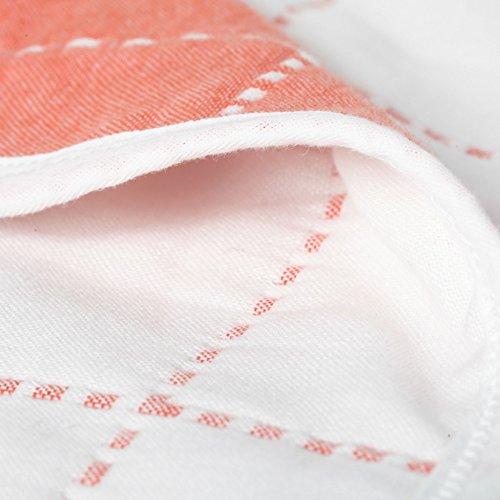 Zoom IMG-1 garza puro cotone square asciugamano