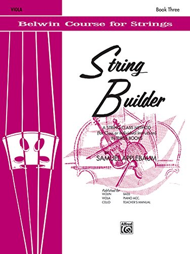 String Builder, Bk 3: Viola (Belwin Course for Strings)