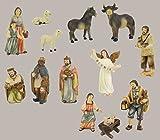 Bauernkrippe,13-tlg. Set, für 12cm Figuren