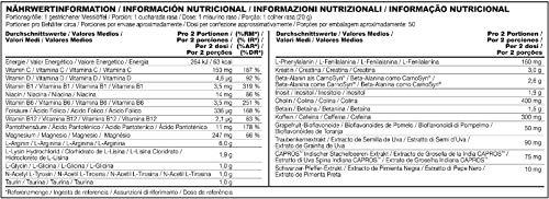 BSN N.O.-Xplode Pre Workout Booster Pulver (mit Kreatin, Arginin, Beta Alanin, Koffein, Vitamin D und Vitamin B Komplex von BSN) Fruit Punch, 50 Portionen, 1kg