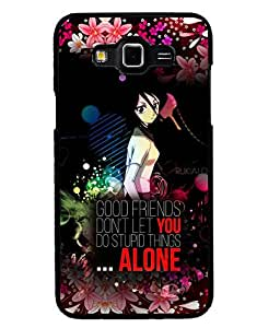 Printvisa 2D Printed Quotes Designer back case cover for Grand 3 - D4515