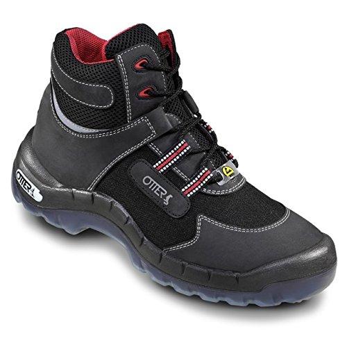OTTER Sicherheits-Stiefel 93762 ESD Sicherheitsschuh Sicherheitsschuhe Hoch S2, Größe:39