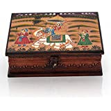 India Get Shopping House New Handicraft For Home Decor Wooden Hand Painted Dhola Maru Jewellery Box