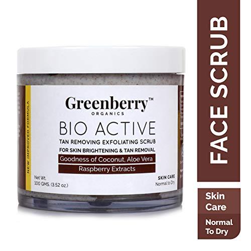Greenberry Organics Bioactive Tan Removing scrub
