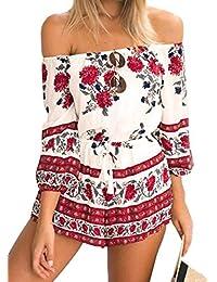 Suchergebnis auf Amazon.de für  jumpsuit damen kurz sommer  Bekleidung 935fd430f1