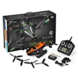 Bangcool RC Quadcopter Flight Drone Toy Headless Mode Triphibian Drone Quadcopter without Camera