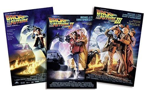 "Set de 3 Posters ""Back to the Future/ Regreso al Futuro I-II-III"" (68,5cm x 101,5cm)"