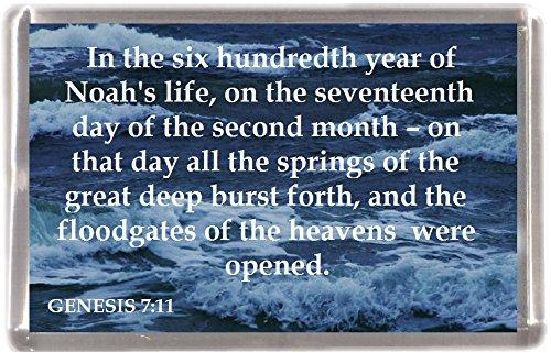 (Tor wurden geöffnet Genesis 7: 11machen 12Stück Kühlschrank Magnete 12Geschenk Souvenir Kühlschrank Magnete)