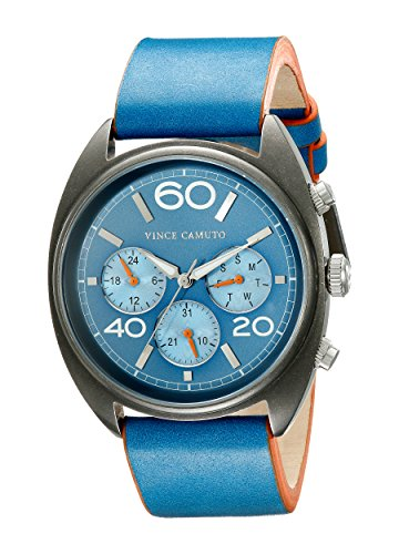 vince-camuto-unisex-the-transporter-quartz-watch-with-blue-dial-analogue-display-and-blue-leather-st