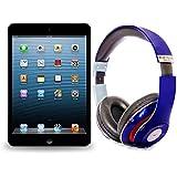 Pack iPad mini 64Go Wifi Noir avec casque Bluetooth Bleu