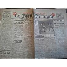 Le Petit Parisien 19 mars 1924 n° 17186 Paris sans taxi - Boxe Ted Kid lewis / Francis Charles