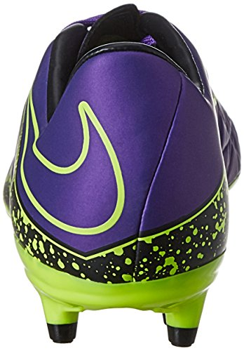 Nike  Hypervenom Phelon II FG, Chaussures de Football homme Violet (Purple/Yellow)