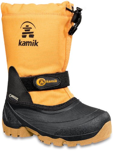 Kamik Waterbug5g, Bottes de Neige Mixte enfant Arancione (Man)