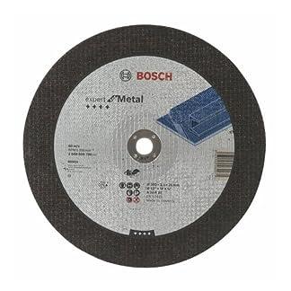 Bosch 2 608 600 706 – Disco de corte recto Expert for Metal – A 24 R BF, 300 mm, 20,00 mm, 3,5 mm (pack de 1)