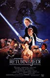 Star Wars: Die Rückkehr der Jedi Ritter: A (1982) | US Import Filmplakat, Poster [61 x 91,5 cm]