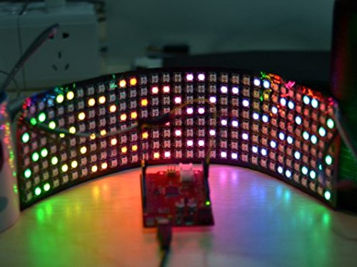 Preisvergleich Produktbild Seeedstudio 8x32 RGB LED Matrix w/ WS2812B - DC 5V