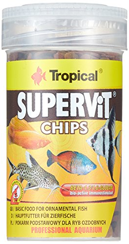 TROPICAL Supervit Chips pour Aquariophilie 100 ML - Lot de 3