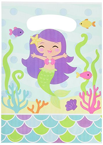 Unbekannt Creative Converting Mermaid Friends Party Favor Geschenktüten (8Zählen)