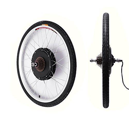 """OBLLER 28\"""" 48V/1000W Elektro-Fahrrad Kit Hinterrad Ebike Elektrofahrrad Umbausatz Kit (48V 1000W)"""