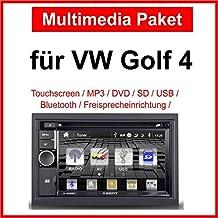 VW Golf 4 pantalla con Radio CD MP3 SD USB Radio de repuesto VW Golf 4