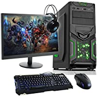 Fierce Haswell Quad Core Custom Gaming PC Bundle - Keyboard, Mouse, Monitor, Headset - i7 4790, GTX 750 Ti 2GB, 16GB of 1600MHz Performance DDR3 Memory, 1TB SATA3 Hard Drive - Home, Office, School, College, University - 213843