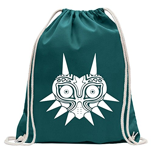 KIWISTAR - Majora's Mask The Legend of Turnbeutel Fun Rucksack Sport Beutel Gymsack Baumwolle mit Ziehgurt