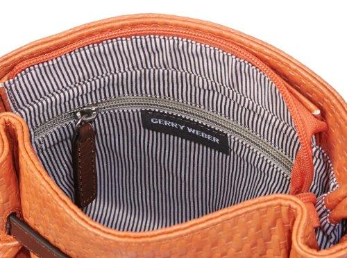 Gerry Weber Breeze Shoulder Bag 4080002187, Damen Schultertaschen 26x21x5 cm (B x H x T) Orange (light orange 201)
