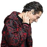 VocalSkull Auriculares de Conducción ósea Inalámbricos Bluetooth 4.2 con Titanio Audífonos Deporte Estéreo Música Bluetooth y Impermeables con Micrófonocon para Teléfonos Inteligente(Gris)