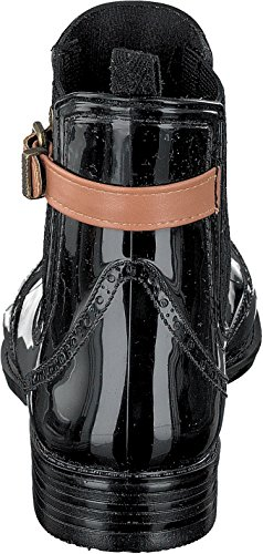 Gosch Shoes Sylt - Damen Chelsea Gummistiefel 7103-502 2 Farben black-cognac