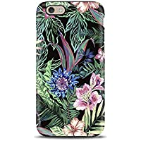 Tropical Floral Flowers cover case TPU Tough for iPhone 5, 5s, 6, 6s, 7, 7 plus, 8, 8 plus, X, XS, for Galaxy S6, S7, S8