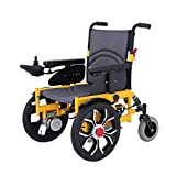 GYH Electric Wheelchair, Predecessor Damping Folding Portable Smart Wheelchair, Disabled Four-Wheeled Scooter, Load 100kg (#)
