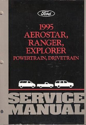1995 Aerostar Ranger Explorer Powertrain Drivetrain Service