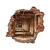Bilderwelten 3D Wandtattoo - Alte Goldmine - Quadrat 1:1, Größe: 140cm x 140cm